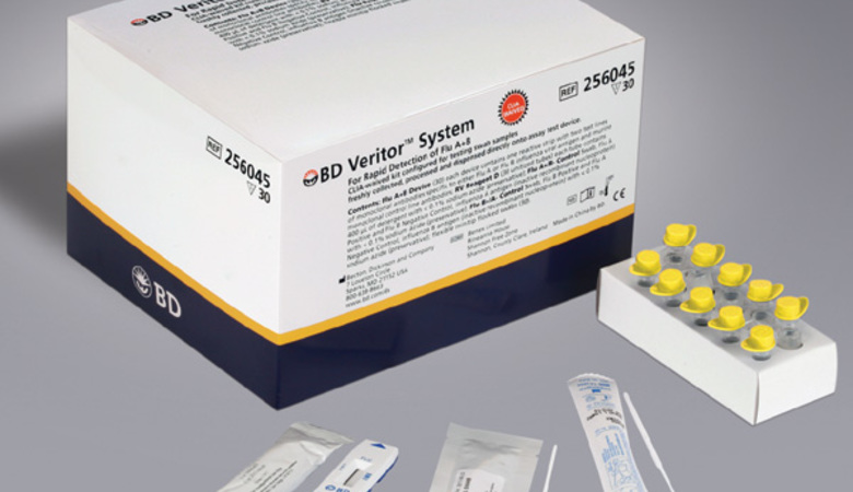 BD Veritor™ Influenza A + B Clinical Kit